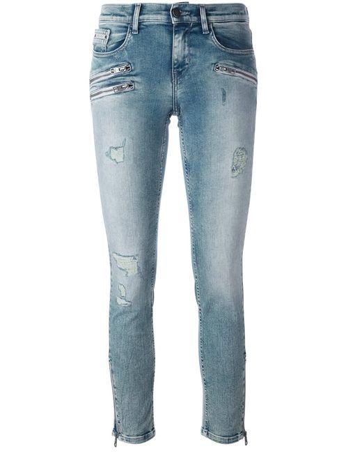 Calvin Klein Jeans | Женские Синие Джинсы Кроя Скинни
