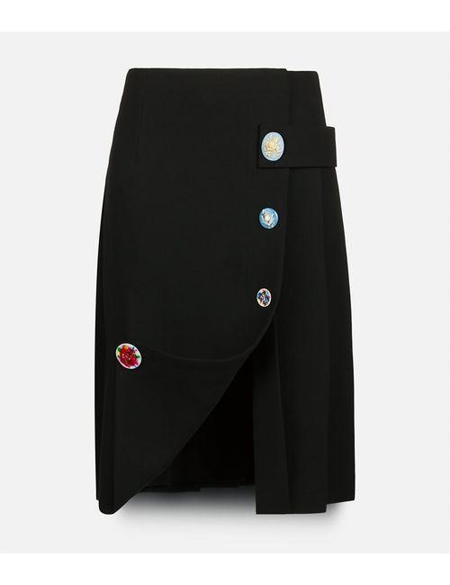 Christopher Kane | Женское Чёрный Strap Skirt