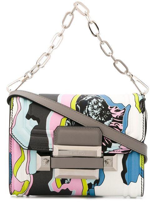 Versace   Многоцветная Сумка На Плечо Jagged Baroque