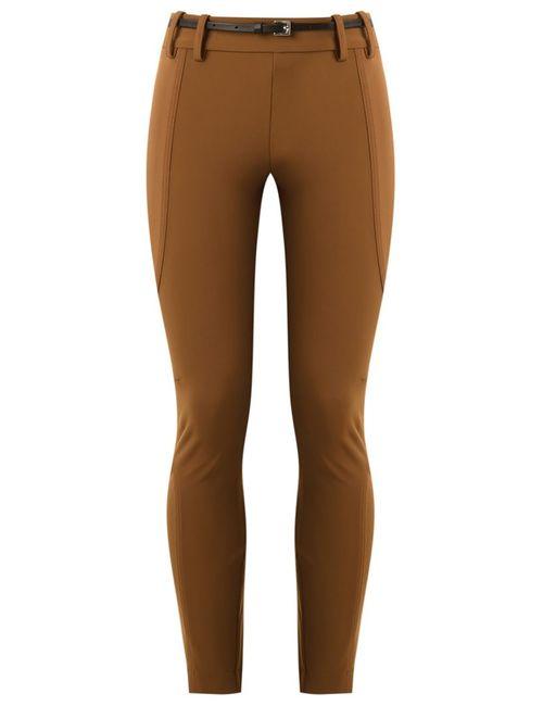 GLORIA COELHO | Коричневый Panelled Skinny Trousers