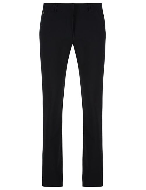 GLORIA COELHO | Чёрный Slim Fit Trousers