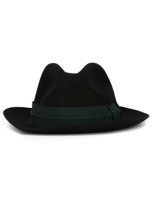 Paul Smith | Мужская Черный Фетровая Шляпа С Контрастной Лентой