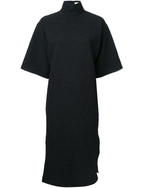 STRATEAS CARLUCCI   Женское Чёрный Funnel Macro Dress