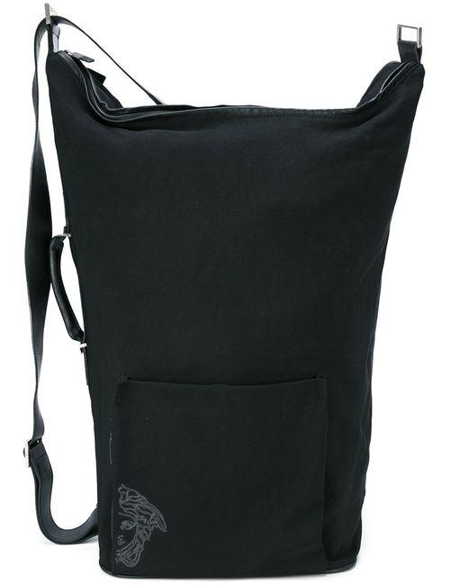 Versace | Женский Чёрный Свободный Рюкзак