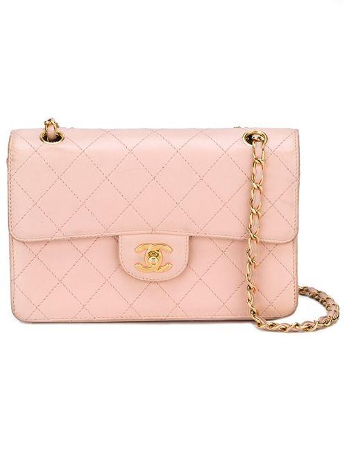 Chanel Vintage | Женская Розовая Стеганая Сумка