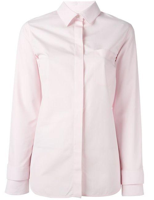 Courreges | Женская Розовая Классическая Рубашка