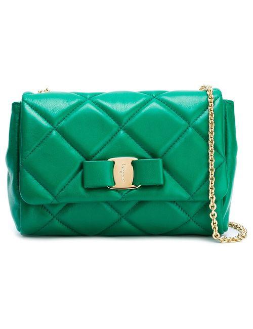 Salvatore Ferragamo | Зелёный Vara Quilted Bag