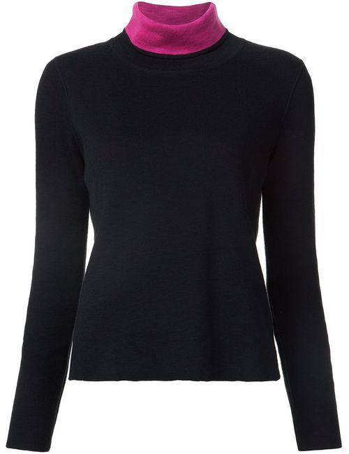 Belford | Женское Черный Contrast High Neck T-Shirt