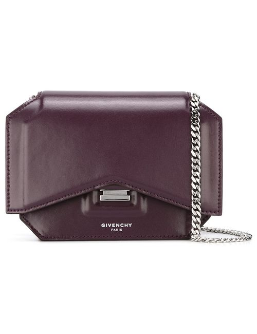Givenchy | Розовый Mini Bow-Cut Crossbody Bag
