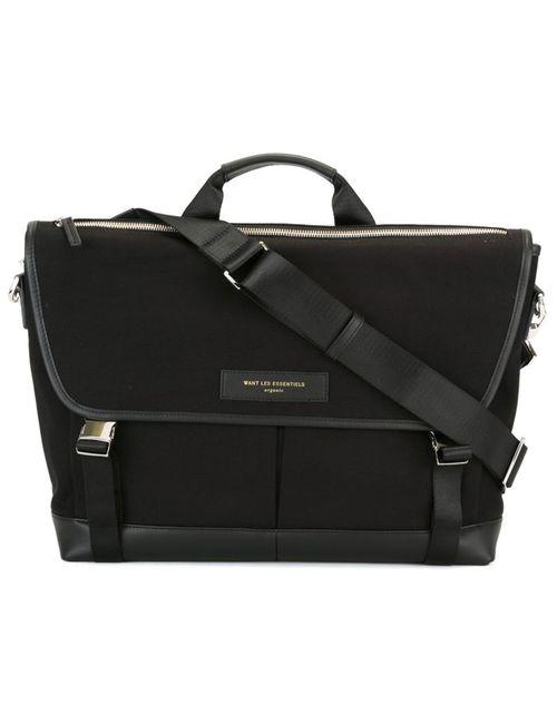 Want Les Essentiels De La Vie | Мужское Черный Jackson 15 Messenger Bag