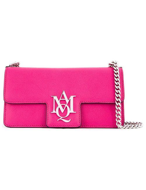 Alexander McQueen | Розовая Сумка-Сэтчел Insignia