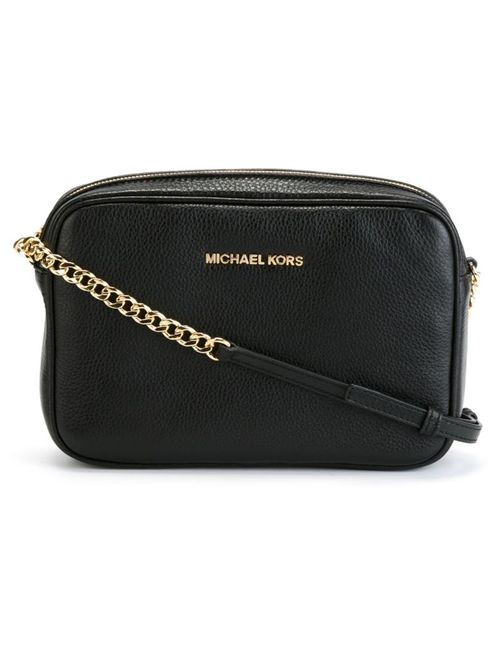 Michael Michael Kors | Чёрный Jet Set Travel Crossbody Bag