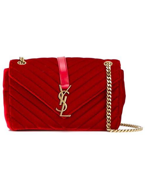 Saint Laurent | Красный Medium Monogram Shoulder Bag