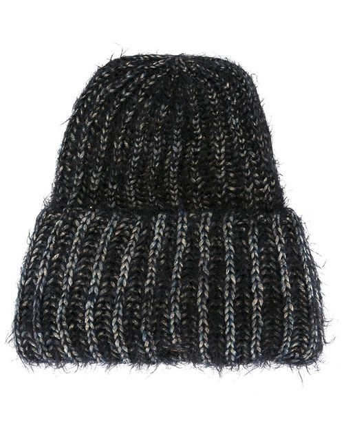 SUPER DUPER HATS   Женские Чёрные Шапка-Бини Beanieone