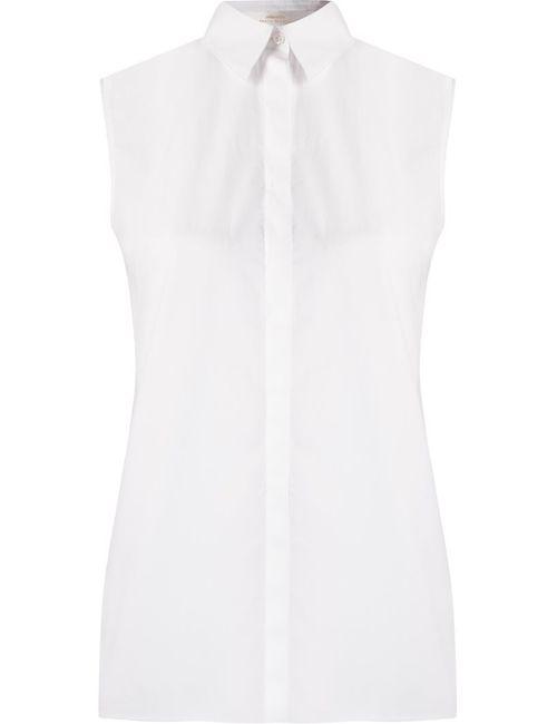 ANDREA MARQUES | Женское Белый Sleeveless Shirt