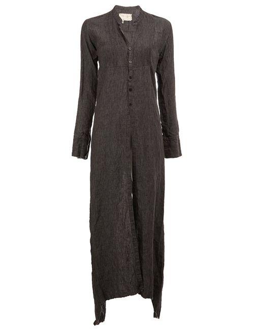 GREG LAUREN | Женское Серый Long Buttoned Tunic