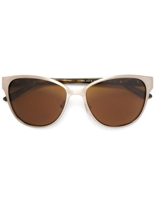 Versace | Женские Серебристые Солнцезащитные Очки
