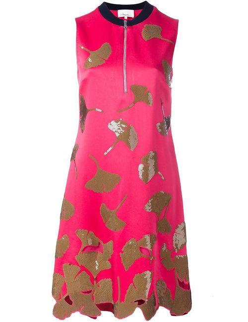 3.1 Phillip Lim | Женское Розовое Платье С Пайетками