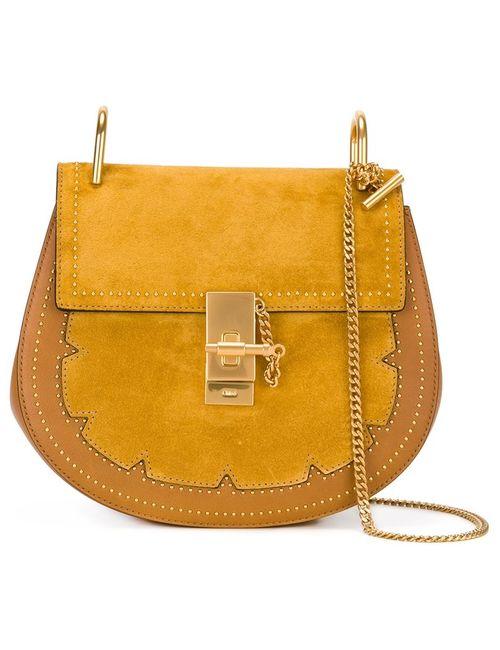 Chloe | Желтый Chloé Studded Drew Shoulder Bag