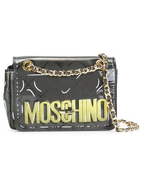 Moschino | Серая Сумка На Плечо Letters