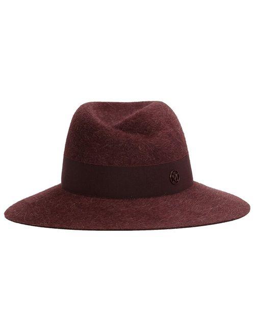Maison Michel | Женская Красная Фетровая Шляпа Virginie