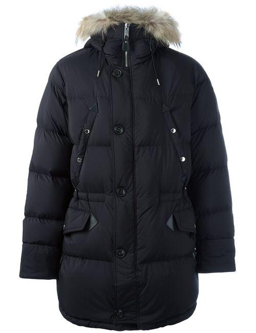 Burberry | Мужское Чёрный Zipped Parka Coat