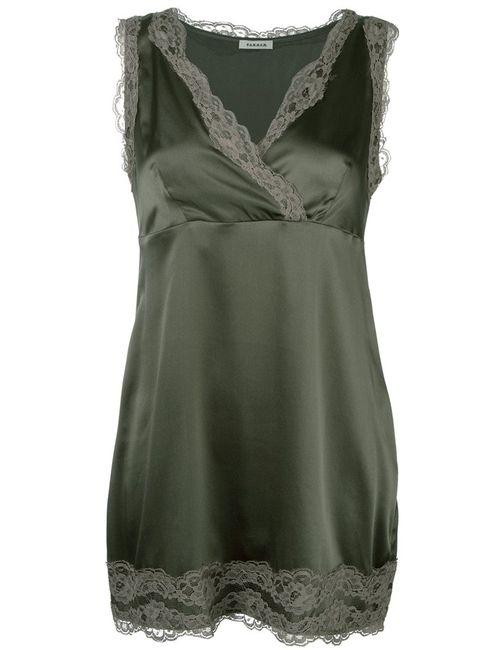 P.A.R.O.S.H. | Женское Зелёный Silsix Dress