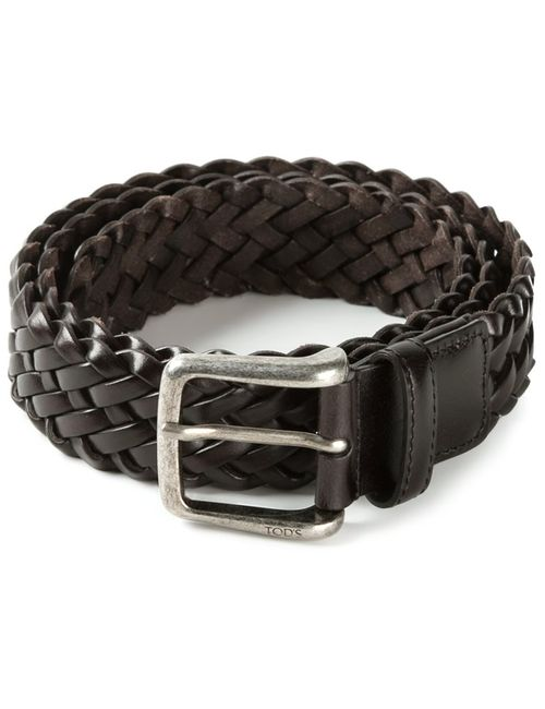 Tod'S | Мужское Коричневый Braided Belt