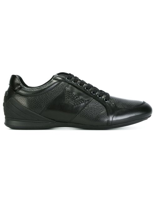 Emporio Armani | Чёрный Panelled Sneakers