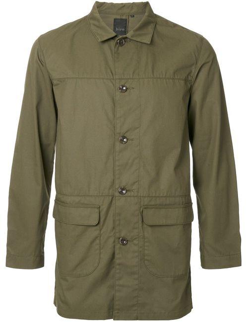 Biro | Мужское Зелёный Supreme Coat