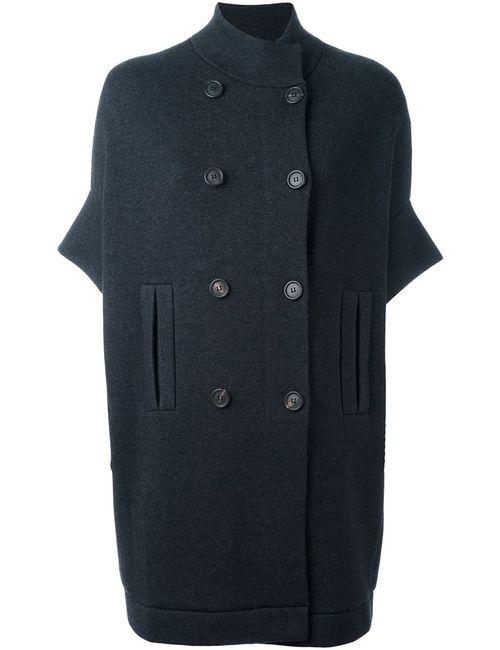 Brunello Cucinelli | Женское Серый Buttoned Short Sleeve Coat
