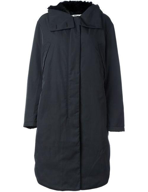 Hope | Женское Чёрный Padded Hooded Mid Coat