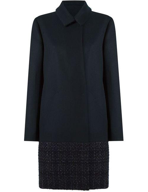 GLORIA COELHO | Женское Чёрный Tweed Panel Coat