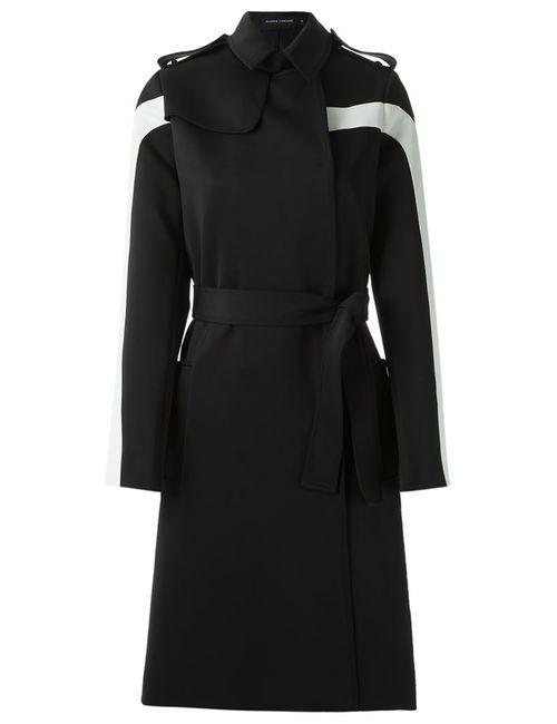 GLORIA COELHO | Женское Чёрный Mid-Lenght Belted Coat