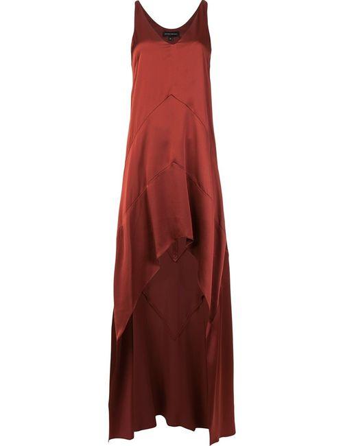 Narciso Rodriguez | Женское Красный Asymmetric Silk Dress