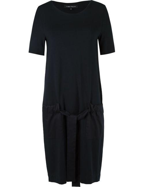 GLORIA COELHO | Женское Черный Side Pockets Dress