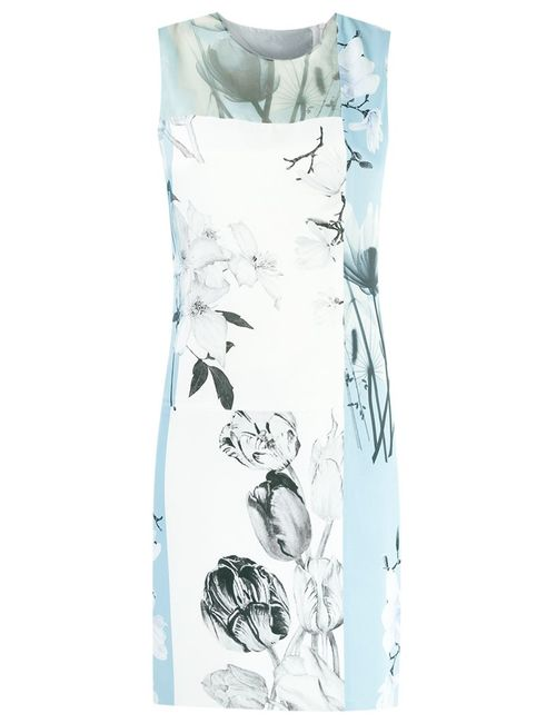 GLORIA COELHO | Женское Синий Printed Dress