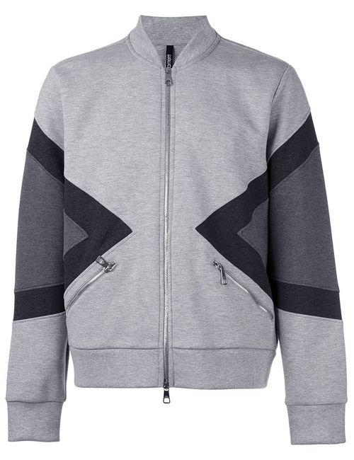 Neil Barrett | Мужское Серый Zipped Bomber Jacket