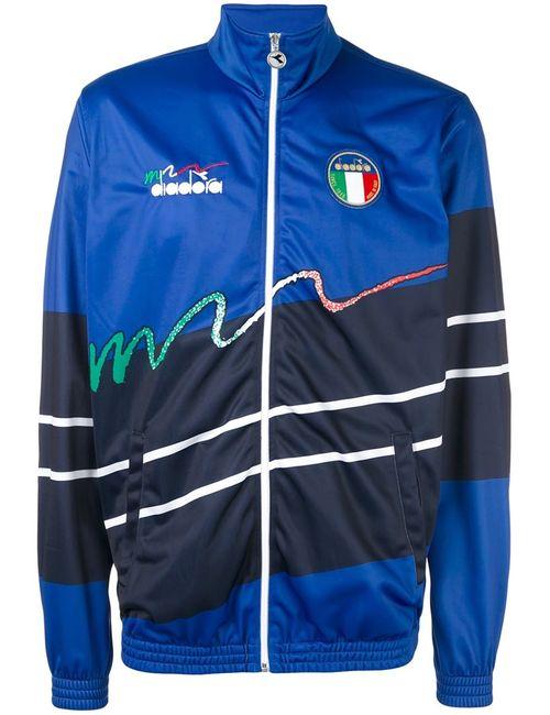 Diadora | Мужское Синий Zipped Sports Jacket