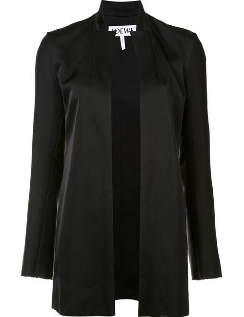 Loewe | Женское Чёрный Peaked Lapel Jacket