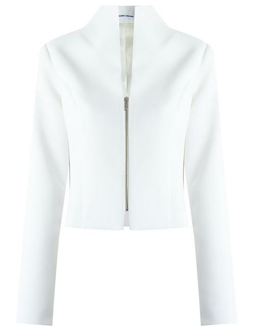GLORIA COELHO | Женское Белый Zipped Blazer