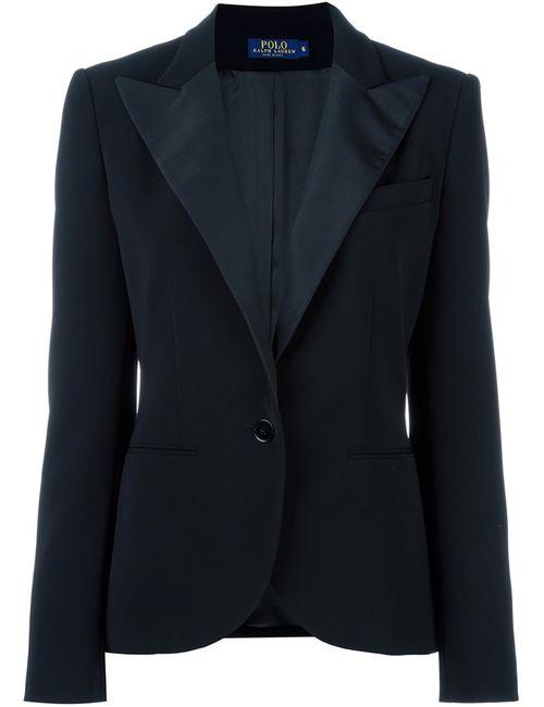 Polo Ralph Lauren | Женское Чёрный Single Button Dinner Jacket