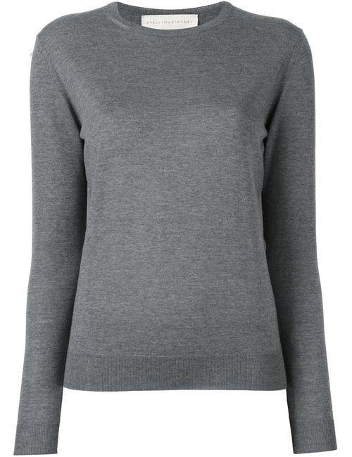 Stella Mccartney | Женское Серый Dropped Shoulder Jumper