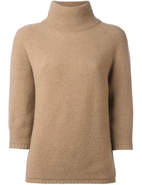 Max Mara | Женское Коричневый Structured Knitted Blouse