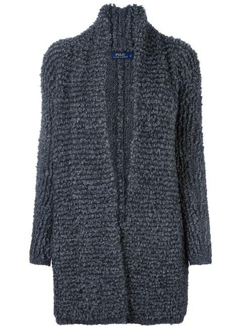 Polo Ralph Lauren | Женское Серый Ribbed Slouchy Cardi-Coat