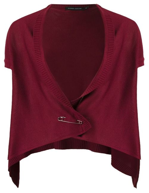 GLORIA COELHO | Женское Красный Knit Waistcoat