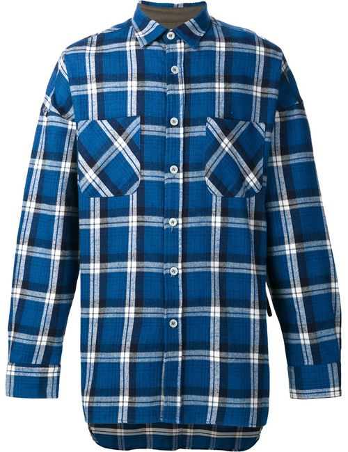 FEAR OF GOD | Мужское Синий 4th Collection Flannel Shirt