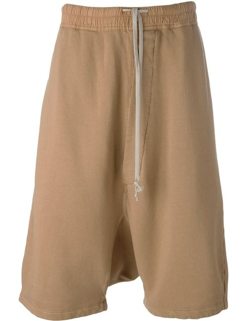 RICK OWENS DRKSHDW | Мужское Nude & Neutrals Casual Drop-Crotch Shorts
