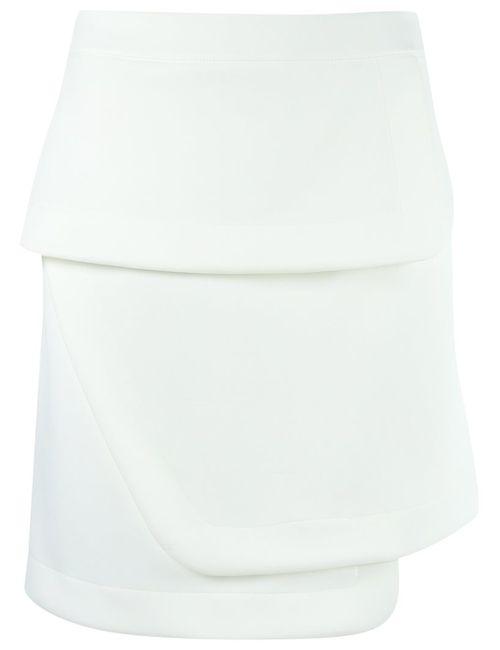 GLORIA COELHO | Женское Белый Layered Skirt