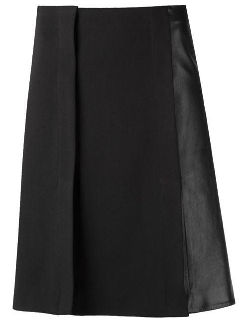 GLORIA COELHO   Женское Черный Flared Skirt